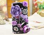 Flower Decoden Kit Set DIY Phone Case Deco Rhinestone Bling. $12.50, via Etsy.