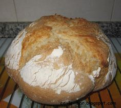 Ca La Mar: Thermomix: Pan de payés Biscuit Bread, Pan Bread, Thermomix Pan, Bread Recipes, Cooking Recipes, Our Daily Bread, Wine Cheese, Just Cooking, Ciabatta