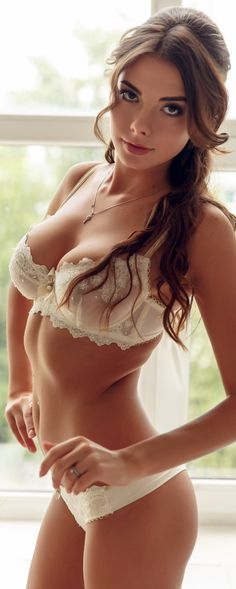 Bad girls love to wear underwear a size too small, so they can pop out at inappropriate times.