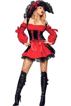 Costume femme pirate LEG AVENUE