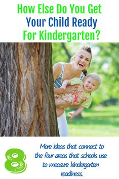 How else do you get your child ready for kindergarten? These ideas connect to the four areas that schools use to measure kindergarten readiness. Kindergarten Readiness, School Readiness, Special Kids, Kids Writing, All Family, Children's Literature, Baby Hacks, Parenting Advice, Natural Parenting