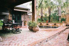 Old St Louis Antique Brick Floor Tile