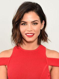 30 Lipstick Ideas to Try Now: Jenna Dewan-Tatum's Cherry Red Lips   allure.com