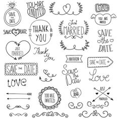 Wedding Clipart Clip Art Commercial & Personal Use by TeoldDesign