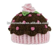 Crochet Toddler Hats – Crochet For Beginners Crochet Toddler Hat, Crochet Kids Hats, Crochet Beanie, Crochet Crafts, Crocheted Hats, Knitted Hat, Crochet Cupcake Hat, Hand Crochet, Knit Crochet