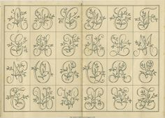 Free Easy Cross, Pattern Maker, PCStitch Charts + Free Historic Old Pattern Books: Sajou No 661