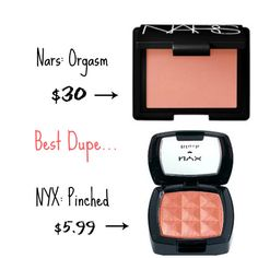 "Nyx powder blush in ""pinched"" is the best blush ever!!! Perfect for winter :)"