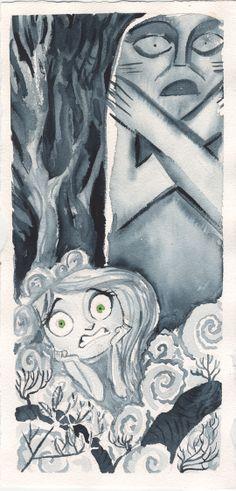 Tomm Moore - Secret of Kells Watercolors