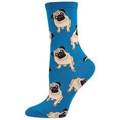 Socksmith Womens Pugs Blue One Size 1 pair Socksmith https://www.amazon.com/dp/B00JJRRP44/ref=cm_sw_r_pi_dp_x_7l82zbJBXVG69
