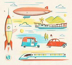 vintage illustrations - Buscar con Google