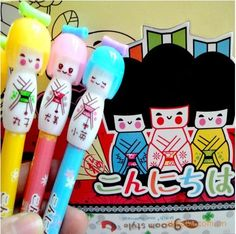 kokeshi ball pen