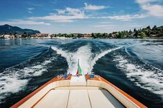 Leave your worries behind! 🌊 #rivaaquarama #bellininautica #iseolake #landscape #aestethic #rivayacht #rivavintage #lake #italy #vintage #boat Riva Yachts, Riva Boat, No Worries, Aqua, Italy, Landscape, Outdoor Decor, Vintage, Water