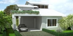 Arch Progetti: Maquete Eletrônica da Casa Modelo 01-Arraial do Ca...
