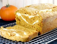 Pumpkin Swirl Bread ~(Like a Pumpkin Cream Cheese Roll without all the Work)