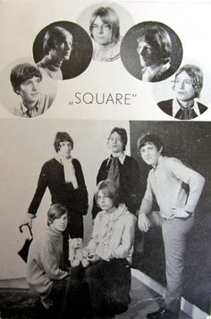 Oude promotiekaart van Square!