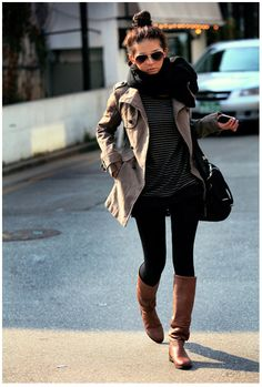 Perfect fall outfit [ AlbertoFermaniUSA.com ] #fall #fashion #style