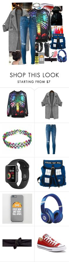 """""""Darcy in the Sherlock (BBC) universe / London Darcy"""" by potato-cloud on Polyvore featuring Frame, Beats by Dr. Dre, Converse, HOT SOX, OC and LondonStyle"""