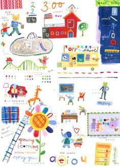 School Art by Jill McDonald Design