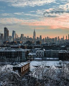 The future lies before you, like a field of fallen snow. Be careful how you tread it for every step will show... (The view from Hoboken, New Jersey) Photo: Oleg Vasilevitsky