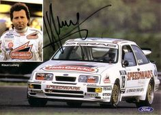 Klaus Ludwig, Deutscher Tourenwagenmeister 1988 auf Grab-Ford Sierra RS 500