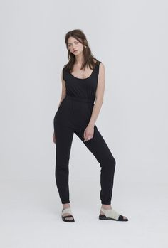 In love with our new ethical organic cotton jumpsuit from the brilliant Zola Amour. Never have we worn a more comfortable jumpsuit. Dress it up or down with flats or heels, or, you know just.lounge in it.