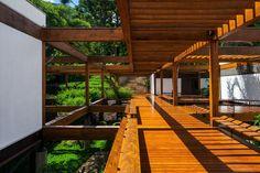 Casa Grelha, FGMF Arquitetos e Orbital Estruturas de Madeira.