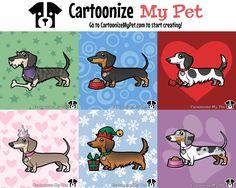 Cartoonize your Dachshund at CartoonizeMyPet.com!
