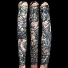 "@jackmatisse's photo: ""#ragnarok #ragnaroktattoo #blackandgreysleeve #blackandgrey #blackandgreytattoo #sleevetattoo #ig_bestink  #tattooistartmag #tattooartistmagazine #superbtattoos #tattoo_artists #sharecrazytattoos1 #inkfreakz #tattoospotlight #inked_fx #tattoosocietymagazine #tattooculturemagazine #instatattoo #inkedmag #inkedup #seattleink"""
