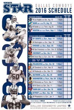 Dallas Cowboys 2016 schedule                                                                                                                                                     More