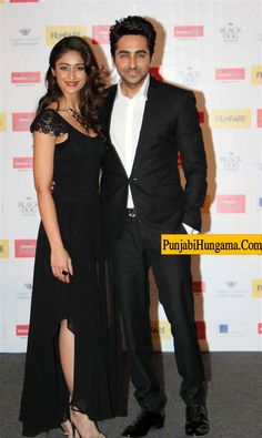 Filmfare Awards 2013 Ayushmann Khurrana and Ileana D'Cruz