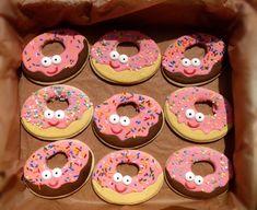 smiley donut cookies