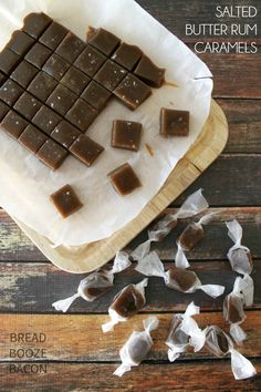 Salted Butter Rum Caramels are just about the best thing you'll ever put in your mouth!