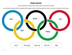 Sochi Olympics: 3 kid-friendly activities to celebrate the winter games Olympic Games For Kids, Olympic Idea, Olympic Flag, Olympic Sports, Olympic Athletes, Olympic Medals, Olympic Colors, Olympic Wrestling, Olympic Records