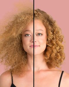 Hydration for frizzy hair Do a hair treatment yourself with hot oil # healthy hair The Ef Curly Hair Care, Natural Hair Care, Natural Hair Styles, Natural Beauty, Curled Hairstyles, Diy Hairstyles, Colored Curly Hair, Types Of Curls, Hair Shades