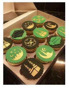 eid ramadan cupcake stencil from stenciland