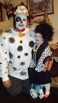 family costume - Cruella DeVille and 101 Dalmations