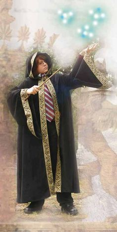 All master wizards need their cloak. Get your young sorcerer one today! #wizard #costume