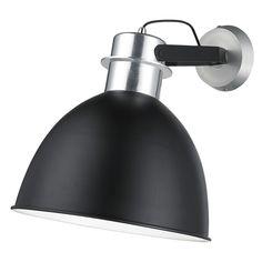 Plafondlamp Levira zwart (Gamma)