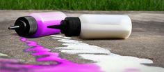 Non-toxic DIY Liquid Sidewalk Chalk - Natural Vitality Living