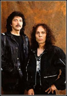 Tony Iommi and Ronnie James DIO.........................