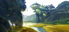 Knighthood Onion Kingdom!, Ben Lo on ArtStation at https://www.artstation.com/artwork/knighthood-onion-kingdom