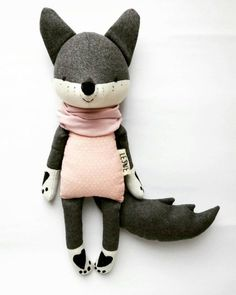 SLEVA the wolf. made to order. SLEVA the wolf. made to order. Esther H misscirocco Basteln Silvester Sleva the wolf is our little rebel […] Baby Clothing Girl Baby Toys, Kids Toys, Baby Baby, Baby Girls, Forest Animals, Woodland Animals, Softies, Plushies, Stuffed Animals