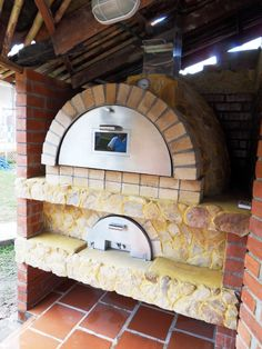 Horno de ladrillo + acero inoxidable! / Brick oven + stainless steel # grill # bbq
