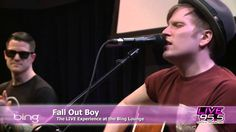 Dear people, Yes Patrick Stump is very talented and CAN sing live.