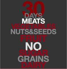 Starting Monday!! 30 day Paleo diet challenge! www.primalorganicmiami.com