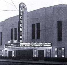 Victoria Theater on Caroline St. Fredericksburg Virginia, Willis Tower, Historical Photos, Postcards, Theater, Places To Visit, Victoria, History, Reading