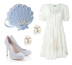 """Beach Wedding"" by sassyladies ❤ liked on Polyvore featuring Yves Saint Laurent, Lipsy and Ben-Amun"
