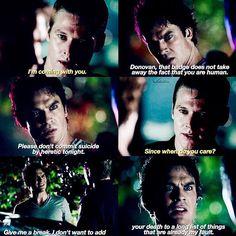 #TVD The Vampire Diaries season 7(I think?) Matt & Damon