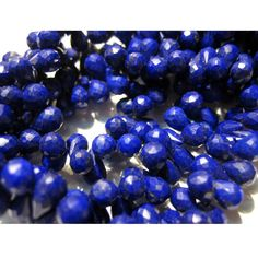 Finest Lapis Lazuli  Tear Drop Faceted  by gemsforjewels on Etsy, $33.95