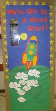 3, 2, 1 ... | 29 Awesome Classroom Doors For Back-To-School